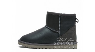 Угги мужские Ugg Australia Classic Mini Metallic Grey