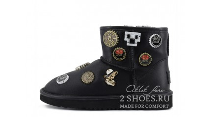 мини джимми чу Ugg Australia Jimmy Choo Mini Coco Chanel Black