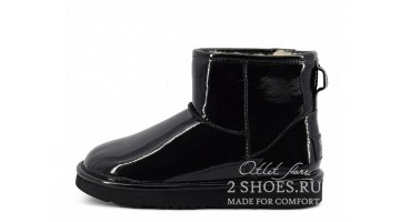 Угги женские Ugg Australia Jimmy C Mini Patent II Black
