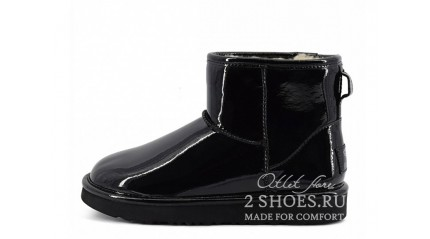мини джимми чу Ugg Australia Jimmy Choo Mini Patent II Black
