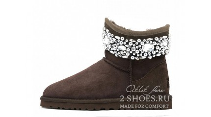 мини джимми чу Ugg Australia Jimmy Choo Mini Multicrystal Chocolate