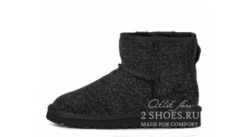 Угги женские Ugg Australia Jimmy Choo Mini Serein Black
