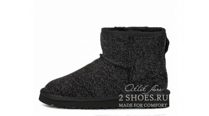 мини джимми чу Ugg Australia Jimmy Choo Mini Serein Black