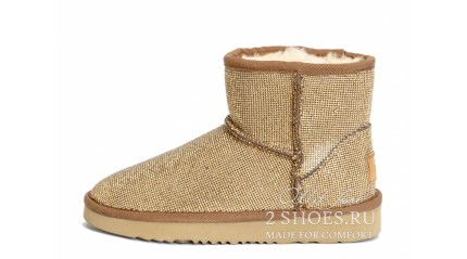 мини джимми чу Ugg Australia Jimmy Choo Mini Serein Gold