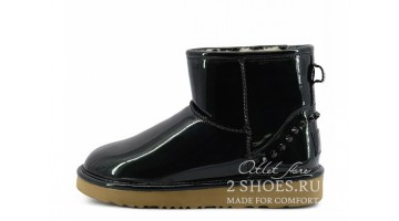 Угги женские Ugg Australia Jimmy Choo Mini Spikes Black