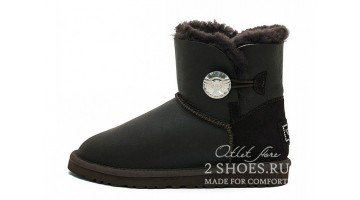 Угги женские Ugg Australia Mini Bailey B Bling Met Choco