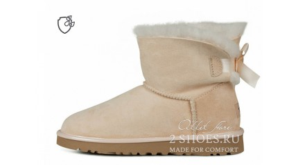 мини с лентами Ugg Australia Mini Bailey Bow II Amberlight