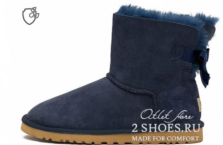 Ugg Australia Mini Bailey Bow II Navy