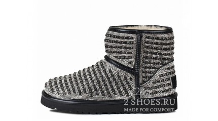 мини эксклюзивные Ugg Australia Mini Exclusive Pearl Black