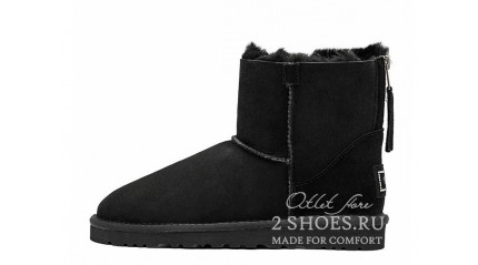 мини с молнией Ugg Australia Mini Zip Black