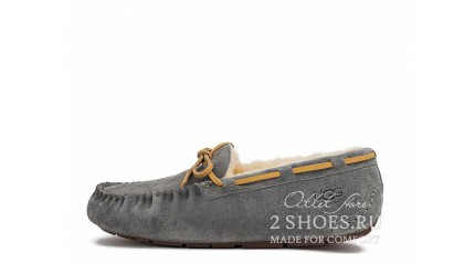мокасины Ugg Australia Mocassins Dakota Dark Gray
