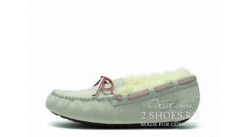 Угги женские Ugg Australia Mocassins Dakota White