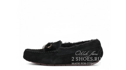 мокасины Ugg Australia Mocassins Dakota Peare Black