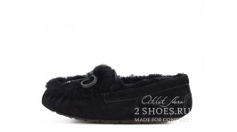Мокасины Ugg Australia Mocassins Dakota Rivers Black черные