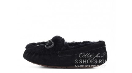 мокасины Ugg Australia Mocassins Dakota Rivers Black