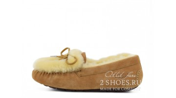 Угги женские Ugg Australia Mocassins Rivers Chestnut