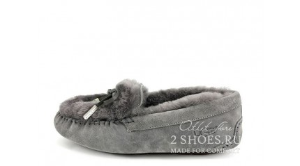 мокасины Ugg Australia Mocassins Dakota Rivers Gray