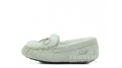 мокасины Ugg Australia Mocassins Dakota Rivers White