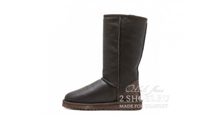высокие Ugg Australia Classic Tall Metallic Chocolate