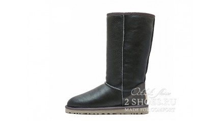 высокие Ugg Australia Classic Tall Metallic Grey