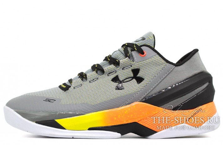 Under Armour Curry 2 Low Sharpens Iron серые