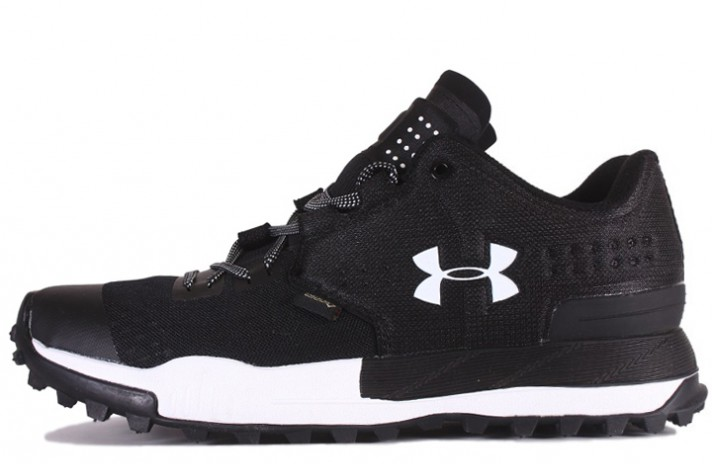 Under Armour Newell Ridge Low GTX Gore-Tex Black White черные