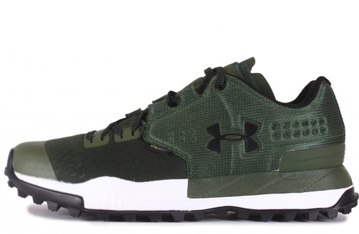 Under Armour Newell Ridge Low GTX Gore-Tex Olive Green зеленые