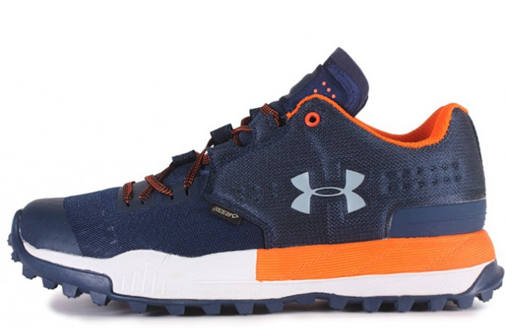 Under Armour Newell Ridge Low GTX Gore-Tex Orange Blue синие