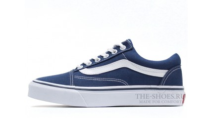 Vans КЕДЫ МУЖСКИЕ<br/> VANS OLD SKOOL CLASSIC LIGHT BLUE WHITE