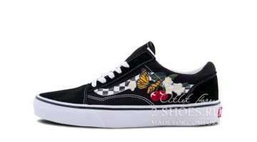 Кеды женские Vans Old Skool Checker Floral