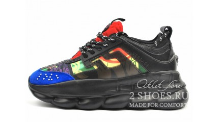 Versace Chain Reaction 2 Black Multicolored