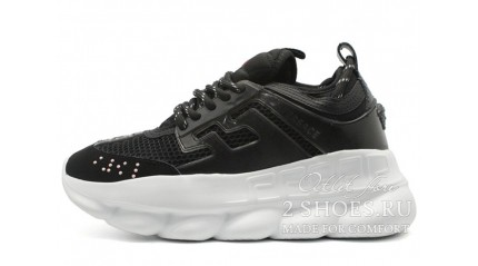 Versace Chain Reaction 2 Black White