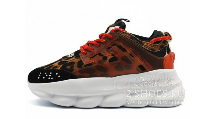 Versace Chain Reaction 2 Spotted Leopard